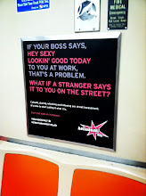 Photo: New anti-harassment ads by Hollaback Philly on SEPTA!