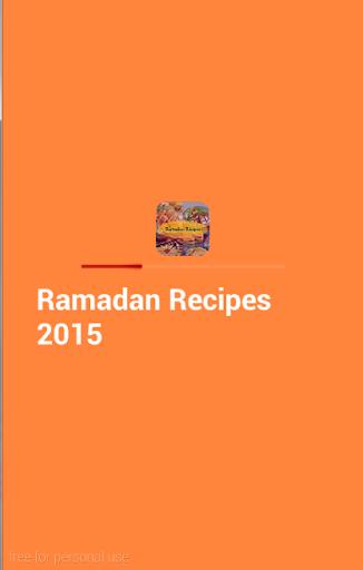 Ramadan Recipes 2015