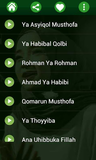 Lagu Sholawat Nissa Sabyan MP3 Offline 1.0 screenshots 2