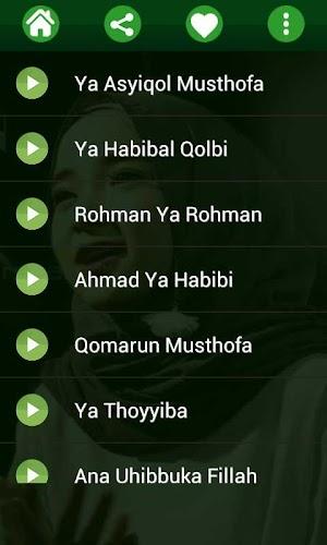 download mp3 album nissa sabyan ya habibal qolbi