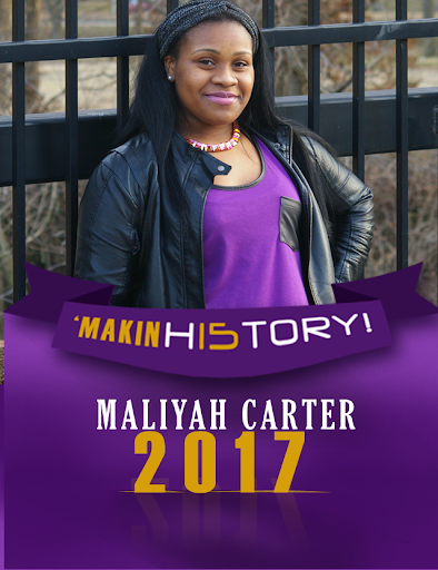 Maliyah Carter Yearbook