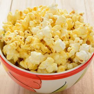 3 Ingredient Cheesy Popcorn