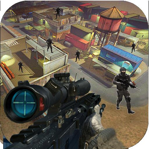 动作の軍の戦闘の衝突 LOGO-記事Game