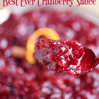 Cranberry Sauce Orange Peel Recipes