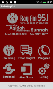 Radio Ray FM Padang- screenshot thumbnail
