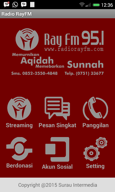 Radio Ray FM Padang- screenshot
