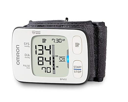 image of Omron blood pressure monitor