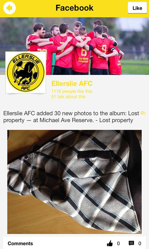 Ellerslie AFC- screenshot