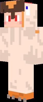persona dizfrazada de pollo