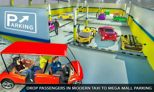 Shopping Mall Radio Taxi: Car Driving Taxi Games apkslow screenshots 6