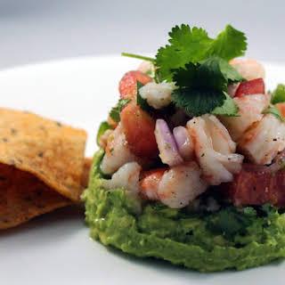 Mexican Shrimp Ceviche.