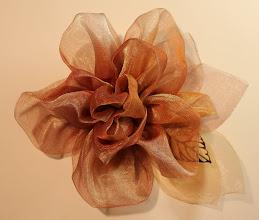 Photo: Цветы из органзы