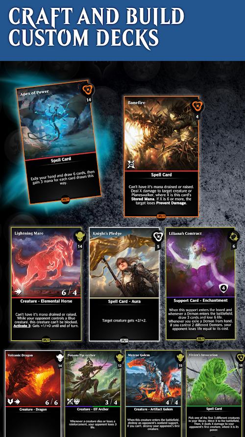 Screenshot 1 Magic: The Gathering - Puzzle Quest 2.9.0 APK MOD
