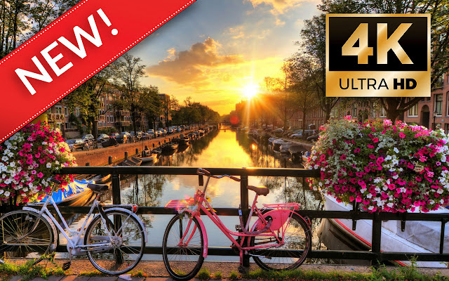 Amsterdam HD Wallpapers - Custom New Tab