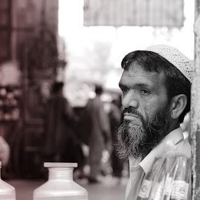 by Mussarrat Fatima - People Portraits of Men