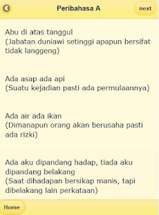 Kumpulan Pribahasa Indonesia- screenshot thumbnail