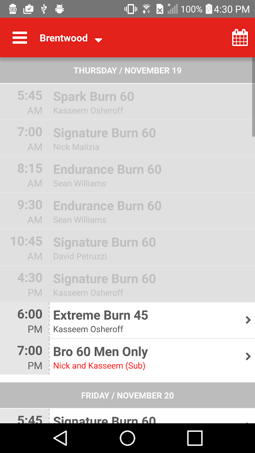 Burn 60- screenshot