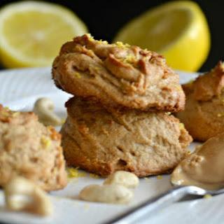 Lemon Cashew Cookies