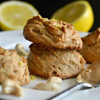 Lemon Cashew Cookies.