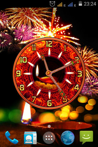 Diwali Clock
