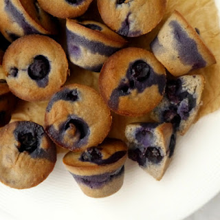Blueberry Pudding Protein Muffins (Pruffins)