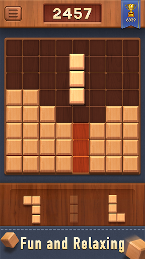 Block of Wood - Classic Puzzle Game apkpoly screenshots 2