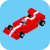 Blocky Formula Turbo Race Cars 2D: Transform Games