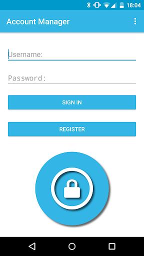 AccountManager - Password Safe