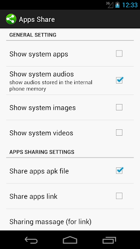 Share Apps and Files 4 screenshots 6
