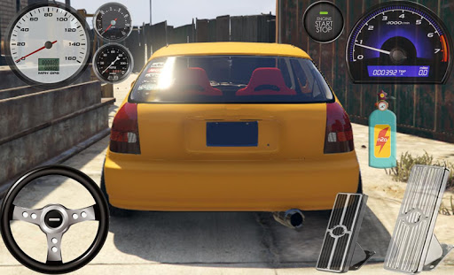 Driving The Civic Typer Vtec 1.0 screenshots 4