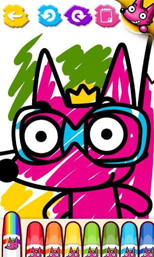 핑크퐁! 색칠놀이