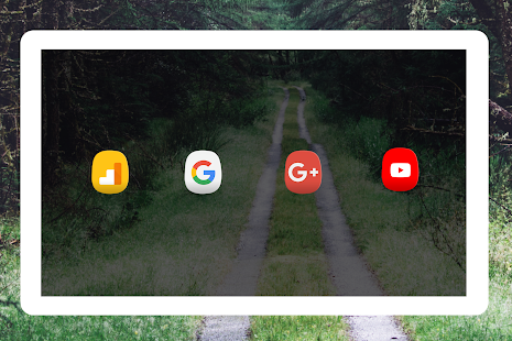Oval - Icon Pack Screenshot