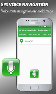 GPS Map Route Traffic finder Earth Navigation - náhled