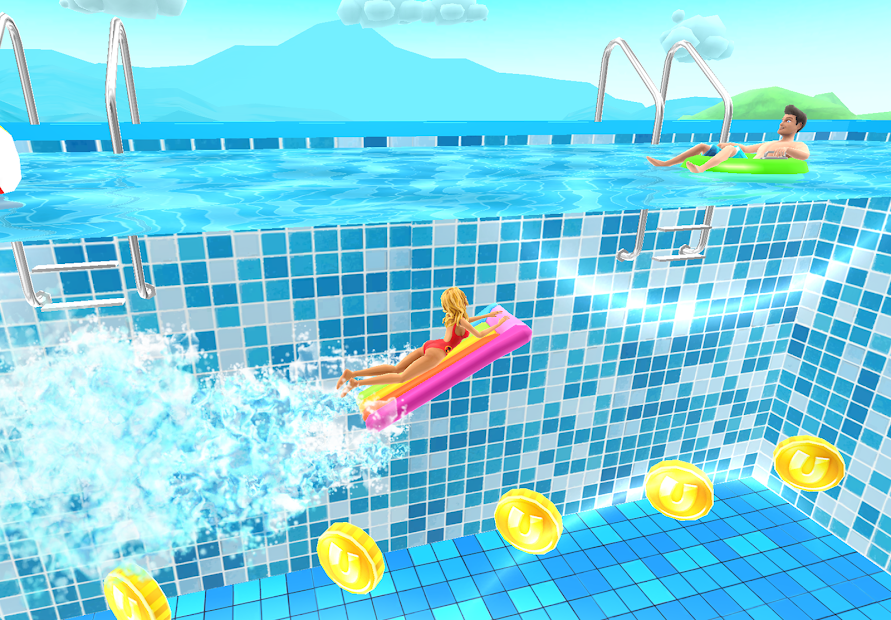 Uphill Rush Water Park Racing Android App Screenshot