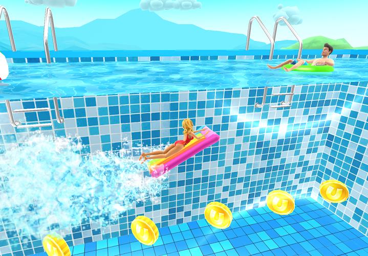 Uphill Rush Water Park Racing Android App Screenshot