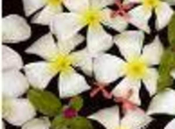 Frangipani Or Plumeria Flowers