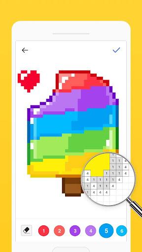 Bixel - Color by Number, Pixel Art 1.7.0 screenshots 3