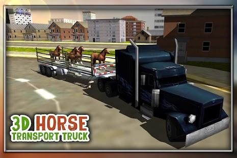 koňské kamionové dopravy Sim - náhled