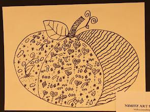 Photo: Pumpkin Tangles Grade 4