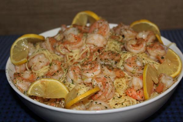 Shrimp And Pasta - Connie's Recipe