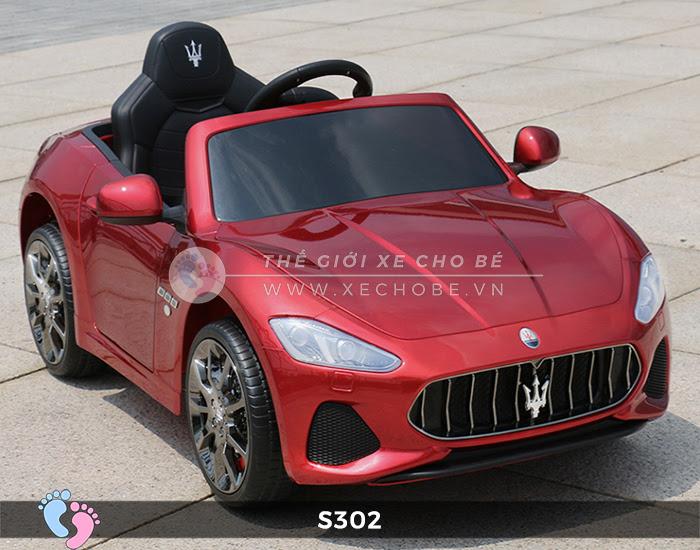Ô tô cho trẻ em cao cấp Maserati S-302 16