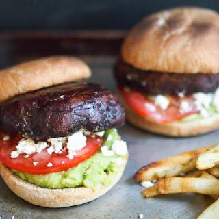 Grilled Balsamic Portobello Mushroom Burger