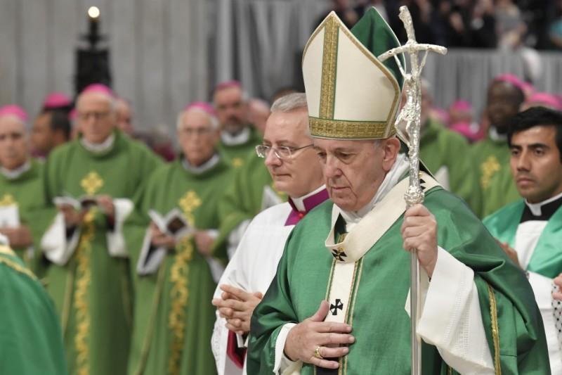 Đức Thánh Cha Phanxico khai mạc Thượng Hội đồng Giám mục về Amazon với Thánh Lễ trong Vương cung Thánh đường Vatican