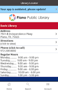 Plano Public Library- screenshot thumbnail