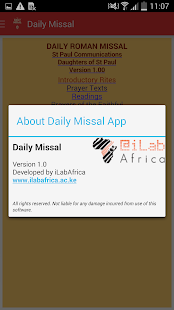 The Daily Missal- screenshot thumbnail