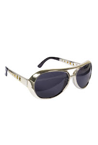 Elvisglasögon, guld