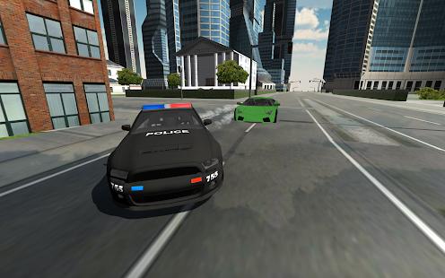 Crazy Police Car Driving - náhled