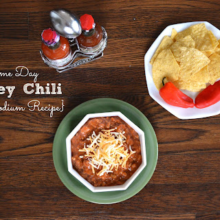 Made From Scratch Low Sodium Turkey Chili.