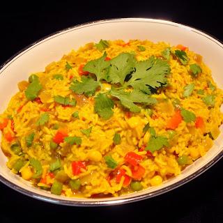 Betsy's No Garlic Vegetable Biryani