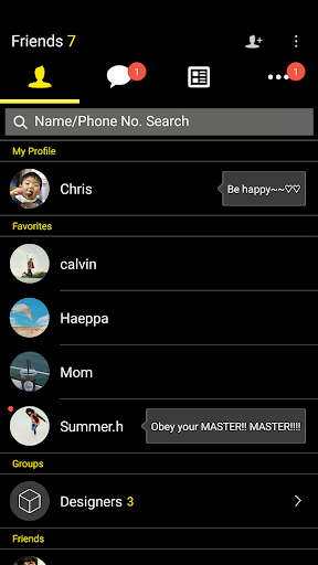 Simple-KakaoTalk Theme 7.0.0 screenshots 2